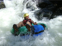 Tubing in Costa Rica